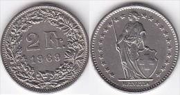 *SUISSE*2 FRANCS*1969 B *  LOT N° 8830 - Suiza