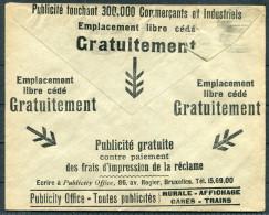 1930s Belgium Advertising Cover - Het Laatste Nieuws - Advertising