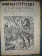 LE JOURNAL DES VOYAGES 20/09/ 1891 JACQUES CASSARD ROI DE TAHITI POMARE V PAPAETE PAPEETE ALPES TROUPES ALPINES