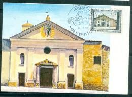 Carte Maximum 1er Jour D'emission  Ancienne Eglise De Saint Nicolas En 1968  Lr19610 - Cartas Máxima