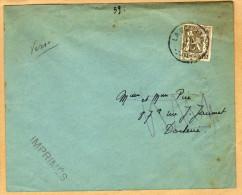 Enveloppe Cover Brief Imprimé 420 La Docherie - Ohne Zuordnung