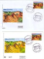 MAYOTTE 2011 Carte Enveloppe 1er Jour Padza Dapani Geology - Mayotte (1892-2011)