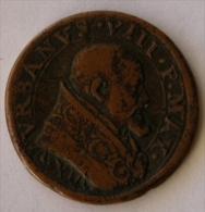 Medaglia Papa  Urbano VIII (1623-1644) Di Devozione All'Arcangelo Michele - Religione & Esoterismo