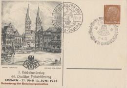 DR Privat-Ganzsache Minr. PP122 C93/04 SST Bremen - Deutschland