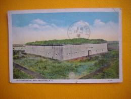 Cpa  BEAUFORT  -  Old Fort Macon  - Near  Beaufort  - N C  -  Etats Unis - Etats-Unis
