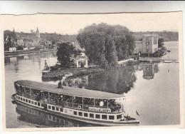 Visé Robinson Plage, Vue Générale Et Bateau Allant Vers Le Canal Albert (pk14978) - Visé