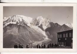 Carte Photo SAINT-GERVAIS-LES-BAINS-Hte-Savoie-Col  VOZA-Glacier Bionnassay-Aiguille Du Goûter-Refuge-Photo Maudamez Ph - Saint-Gervais-les-Bains
