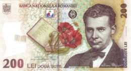 ROMANIA P. 122c 200 L 2009 UNC - Romania