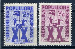 1961 - ALBANIA - ALBANIE - ALBANIEN - Catg. Mi 640/641 -  NH - (T22112014...) - Albanien