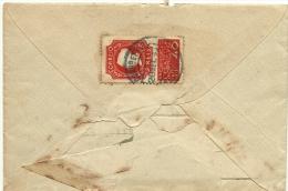 Envelope Com Selo 1ª Exposição Filatelica Portuguesa  - 1935 - Portugal - Circulou De Alcobaça Para Matosinhos - Lettres & Documents