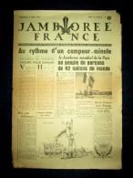 Lot 16 numeros Journal JAMBOREE FRANCE: Moisson Yvelines 1947 Scoutisme Scout Scouting Pfadfinderbewegung dessin JOUBERT