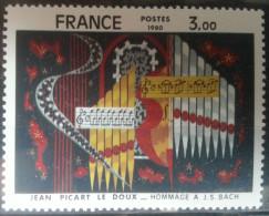 Jean Picart Le Doux  -  Hommage à J S Bach   -   France 1980 - France
