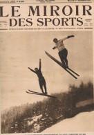 """31 D�cembre 1924 """" LE MIROIR DES SPORTS"""" n�238. Ski Rugby Hockey Football Cyclisme Rigoulot """"leveur de poids"""""""