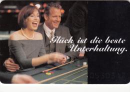 Spielbanken Casino Bayern - Phone Card - Bad Wiessee - Bad F�ssing - Garmisch Partenkirchen - Germany - Europe