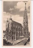 Ansichtskarte AK Österreich Wien Stephansdom Gelaufen 1957 - Églises