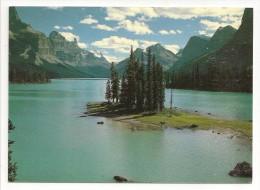 Canada - Jasper National Park - Maligne Lake With Spirit Island - éd. High Country Colour N° 375 - Jasper