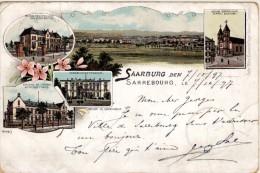 Saarburg - Précurseur - Cachet De Saarburg à Dieuze - Sarrebourg