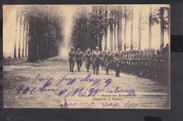 Ligny-allee besuch des Kronprinzen    Feldpost  1915