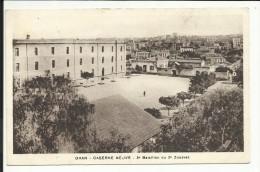 """ORAN , Caserne Neuve , 3ème Bataillon Du 2ème Zouaves , 1939 , + Cachet Au Dos """" 2 Régiment De Zouaves """" - Oran"""