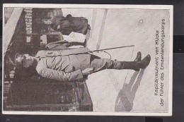 Kapit�nleutnant von M�cke f�hrer des Emdenlandungskorps  Feldpost   1916