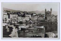 Cpa  BASTIA  : Le Vieux Port Et La Cathédrale   ( 811 ) - Bastia