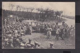 Der Kronprinz von Preussen in Cierges  Feldpost  1915