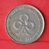 TOKEN CASINOS DO ALGARVE - 25 ESCUDOS -  (Nº09531) - Casino