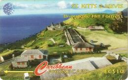 *ST. KITTS & NEVIS - 55CSKA* -  Scheda Usata - St. Kitts & Nevis