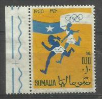 SOMALIA - 1960 Olympic Games (relay Race) 10c MNH **     SG 361  Sc 249 - Somalia (1960-...)