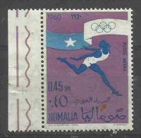 SOMALIA - 1960 Olympic Games (athlete) 45c MNH **     SG 363  Sc C73 - Somalia (1960-...)