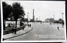 42  ROANNE LE NOUVEAU PONT LES PROMENADES  USINE INDUSTRIE  CARTE DES ANNEES 1950/1960 - Roanne