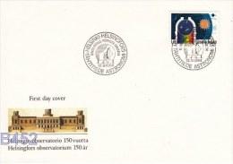 Finland FDC: 1984 Helsingfors Observatorium  (B452) - FDC