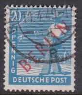 Germany Berlin 1948-49 20pf Blue Used - [5] Berlin