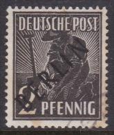 Germany Berlin 1948 2pf Brown Black Used - [5] Berlin