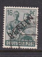 Germany Berlin 1948 16pf Dark Blue Green Used - [5] Berlin