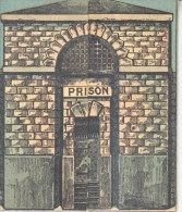 VICTORIAN  ERA  1892   CHRISTMAS    PRISON  OPENS  POLICE  RELATED - Christmas