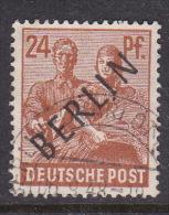 Germany Berlin 1948 24pf Brown Orange Used - [5] Berlin