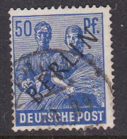 Germany Berlin 1948 50pf Ultra B13a Used - [5] Berlin