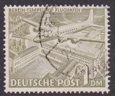 Germany Berlin 1949 Definitive 1DM  Templhof Airport Used - [5] Berlin
