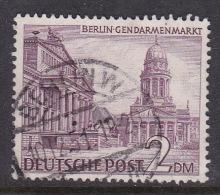 Germany Berlin 1949 Definitive 2DM Gendarmen Square Used - [5] Berlin