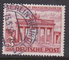 Germany Berlin 1949 Definitive 3DM Brandenburg Gate Used - [5] Berlin