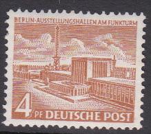 Germany Berlin 1949 Definitive 4pf Mint Hinged - [5] Berlin