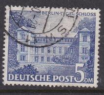 Germany Berlin 1949 Definitive 5DM Tegel Castle Used - [5] Berlin