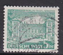 Germany Berlin 1949 Definitive 5pf Tegel Castle Used - [5] Berlin