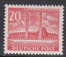 Germany Berlin 1949 Definitive 20pf Pf Mint Hinged - [5] Berlin