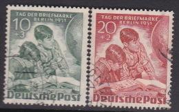 Germany Berlin 1951 Stamp Day Used Set - [5] Berlin