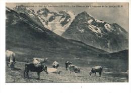 C P A------05-----DAUPHINE-LE LAUTARET--le Glacier De L'homme Et La Meije ----voir 2 Scans - France
