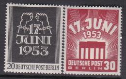 Germany Berlin 1953 Workers Strike Mint Hinged - [5] Berlin