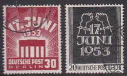 Germany Berlin 1953 Workers Strike Used Set - [5] Berlin