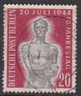 Germany Berlin 1954 10th Anniversary Attempt Assassination Hitler Used - [5] Berlin